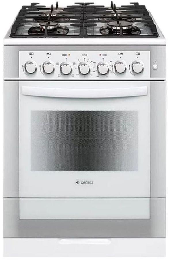 Газовая плита GEFEST ПГЭ 6502-02 0042,  электрическая духовка,  белый