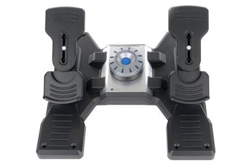 Геймпад проводной LOGITECH G Saitek PRO Flight Rudder Pedals черный [945-000005]