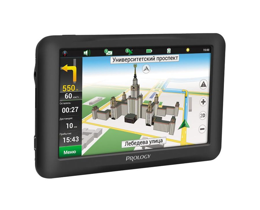 """GPS навигатор PROLOGY iMap-5950,  5"""",  авто, 4Гб, Navitel Содружество + Скандинавия,  черный"""