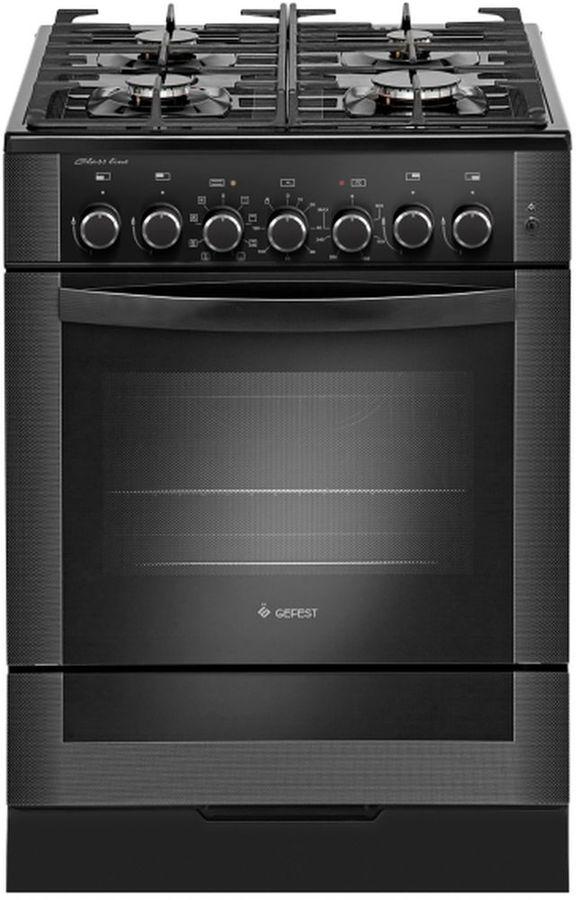 Газовая плита GEFEST ПГЭ 6502-03 0029,  электрическая духовка,  черный