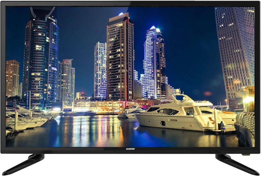 "LED телевизор DIGMA DM-LED39R201BT2  ""R"", 39"", HD READY (720p),  черный"