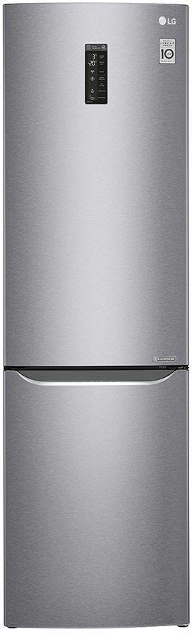 Холодильник LG GA-B499SMKZ,  двухкамерный,  нержавеющая сталь