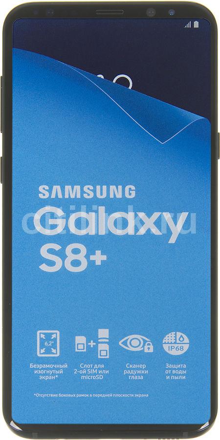 Смартфон SAMSUNG Galaxy S8+ 64Gb WarGaming Preinstall,  SM-G955F,  черный
