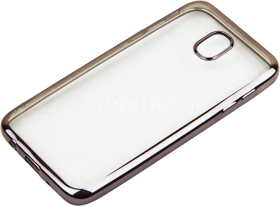 Чехол (клип-кейс) REDLINE iBox Blaze, для Samsung Galaxy J5 (2017), черный [ут000011439]