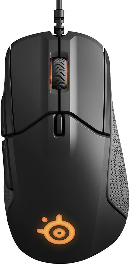 Мышь STEELSERIES Rival 310 оптическая проводная USB, черный [62433]