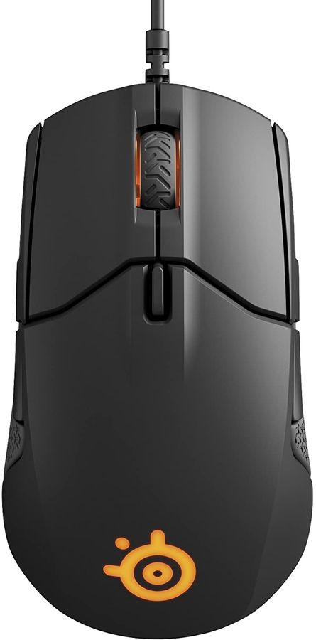 Мышь STEELSERIES Sensei 310, игровая, оптическая, проводная, USB, черный [62432]