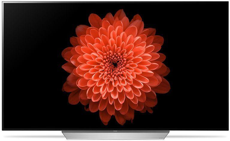 "LED телевизор LG OLED65C7V  ""R"", 65"", Ultra HD 4K (2160p),  черный/ серебристый"