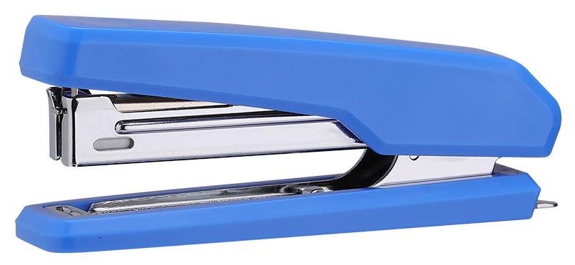 Степлер Deli E0229 N10 (15листов) встроенный антистеплер ассорти 50скоб коробка