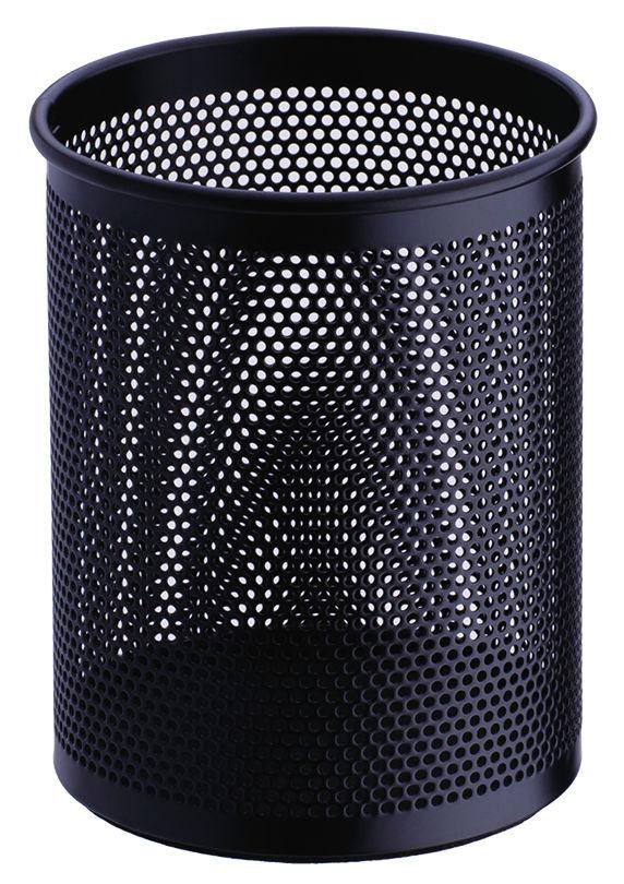 Подставка Deli E909 для пишущих принадлежностей черный металл сетка