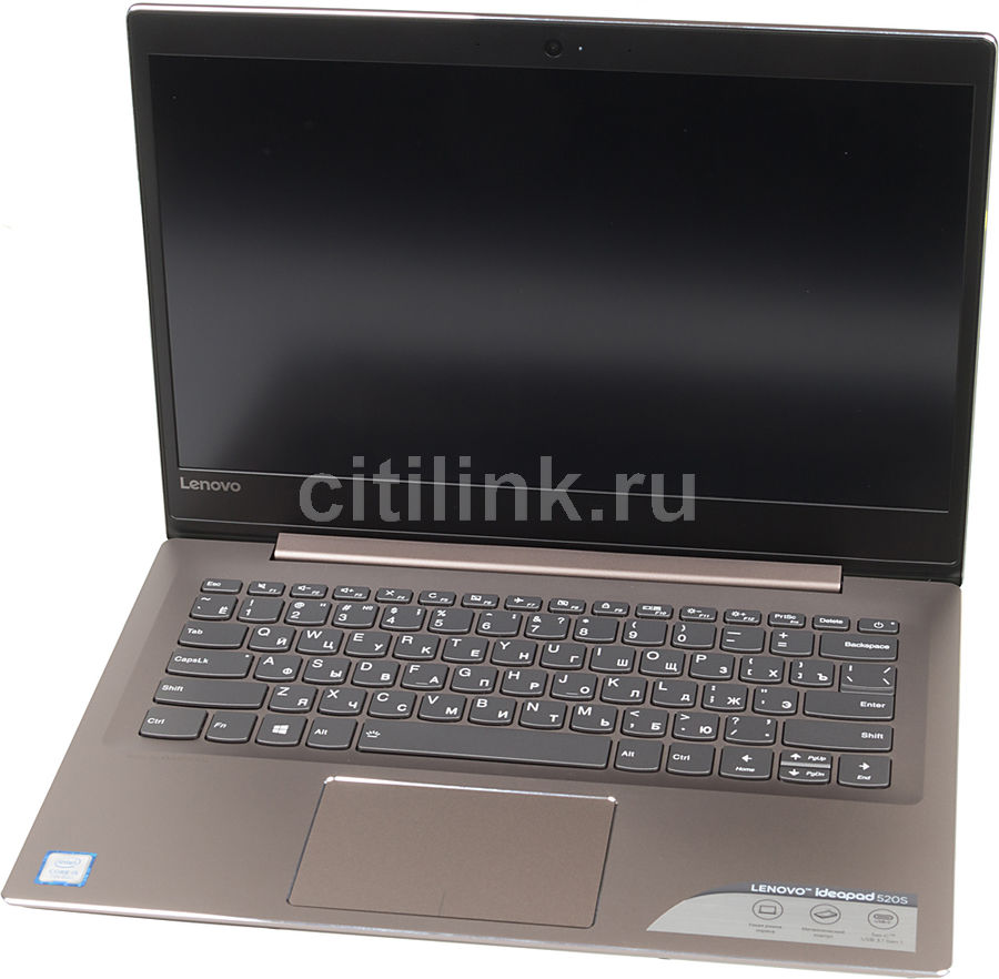Ноутбук LENOVO IdeaPad 520S-14IKB, 14, Intel Core i5 7200U 2.5ГГц, 8Гб, 128Гб SSD, Intel HD Graphics 620, Windows 10, 80X200FARK, золотистыйНоутбуки<br>экран: 14;  разрешение экрана: 1920х1080; тип матрицы: IPS; процессор: Intel Core i5 7200U; частота: 2.5 ГГц (3.1 ГГц, в режиме Turbo); память: 8192 Мб, DDR4, 2133 МГц; SSD: 128 Гб; Intel HD Graphics 620; WiFi;  Bluetooth; HDMI; WEB-камера; Windows 10<br><br>Линейка: IdeaPad