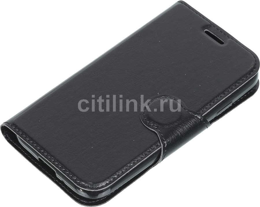 Чехол-книжка REDLINE Book Type, для Samsung Galaxy J1 mini prime (2017), черный [ут000011568]