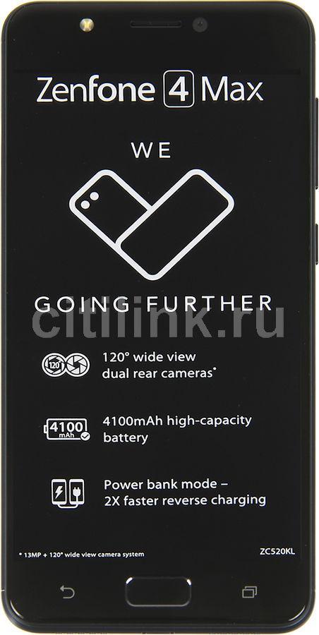 Смартфон ASUS ZenFone Max ZF4 16Gb,  ZC520KL,  черный