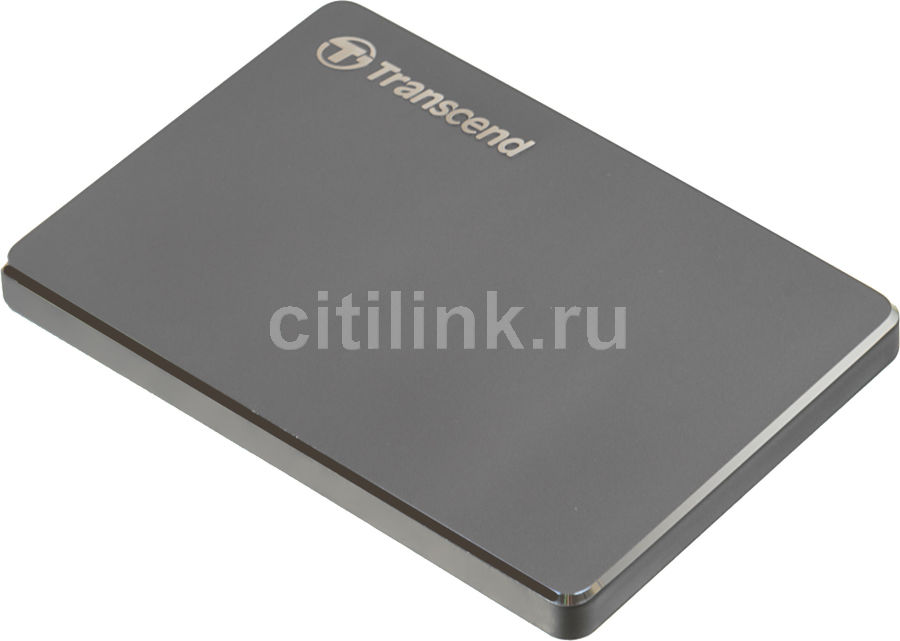 Внешний жесткий диск TRANSCEND StoreJet 25С3 TS2TSJ25C3N, 2Тб, серый
