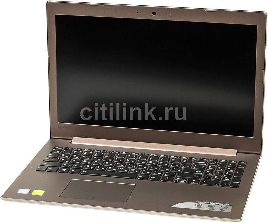 Ноутбук LENOVO IdeaPad 520-15IKB, 15.6, Intel Core i5 7200U 2.5ГГц, 6Гб, 1000Гб, 128Гб SSD, nVidia GeForce 940MX - 2048 Мб, Windows 10, бронзовый [80yl00jkrk] ноутбук lenovo ideapad 520 15ikb 15 6 intel core i3 7100u 2 4ггц 6гб 1000гб nvidia geforce 940mx 2048 мб windows 10 серый [80yl005jrk]