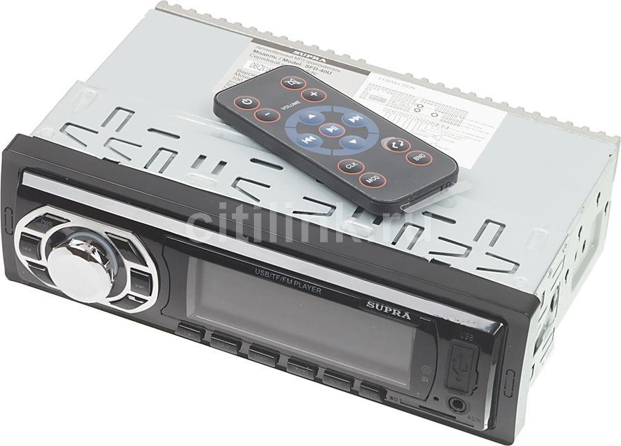 Автомагнитола SUPRA SFD-40U,  USB,  SD