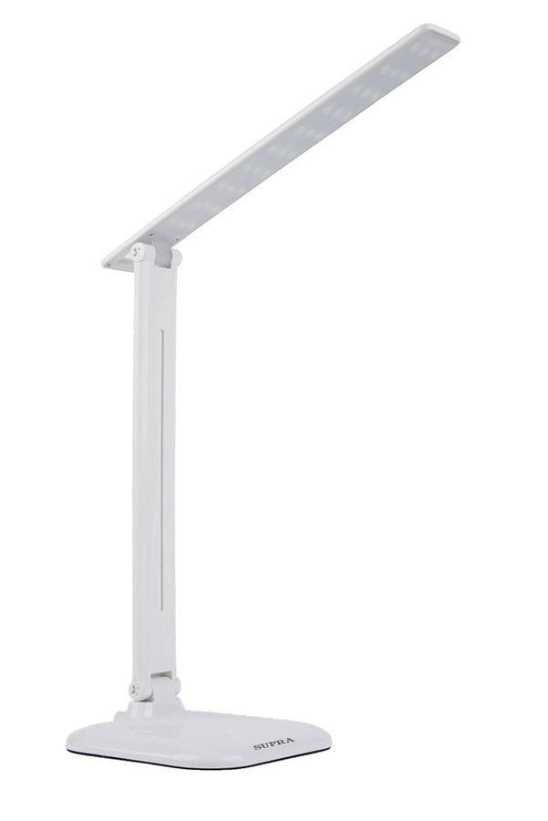 Светильник настольный SUPRA SL-TL205 на подставке,  9Вт,  белый