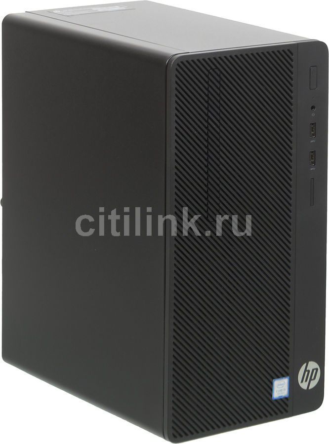 Компьютер HP 290 G1, Intel Core i3 7100, DDR4 4Гб, 1000Гб, Intel HD Graphics 630, DVD-RW, Windows 10 Professional, черный [2mt23es] компьютер dell optiplex 5050 intel core i3 7100t ddr4 4гб 128гб ssd intel hd graphics 630 linux черный [5050 8208]