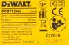 Дрель-шуруповерт DEWALT DCD710C2-KS,  1.3Ач,  с двумя аккумуляторами вид 7