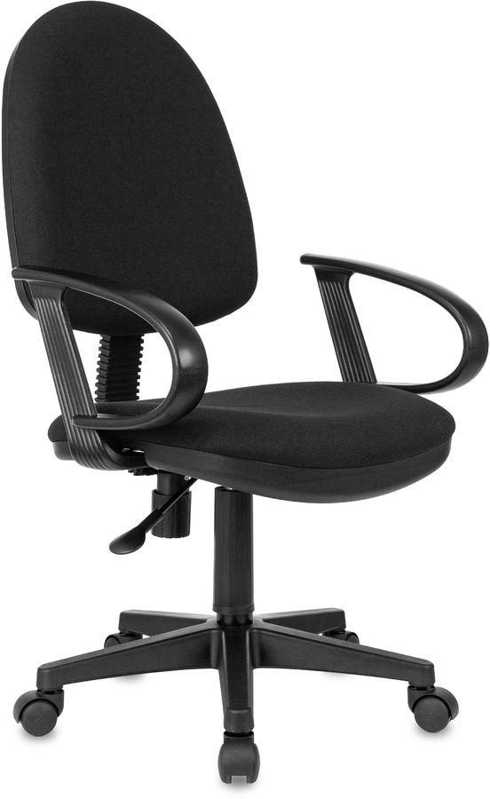 Кресло БЮРОКРАТ CH-300, на колесиках, ткань, черный [ch-300/black]