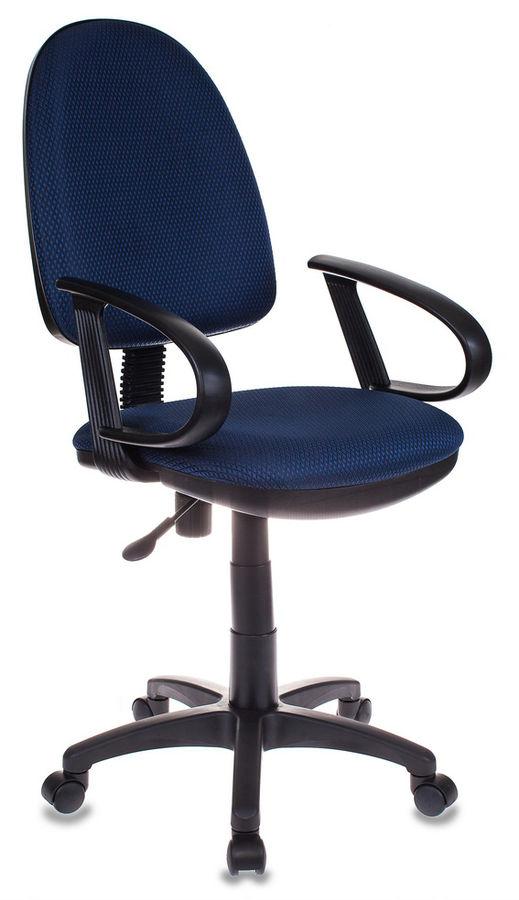 Кресло БЮРОКРАТ CH-300, на колесиках, ткань, синий [ch-300/blue]