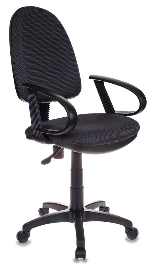 Кресло БЮРОКРАТ CH-300, на колесиках, ткань, серый [ch-300/grey]