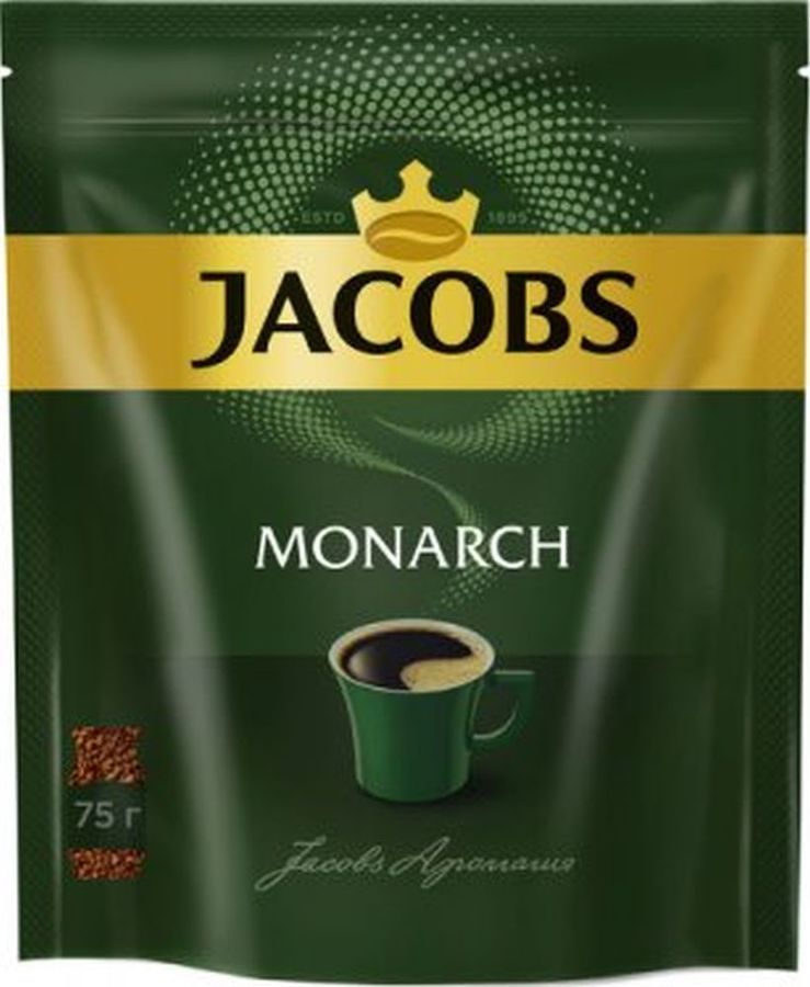 Кофе растворимый JACOBS MONARCH 75грамм [4251675]