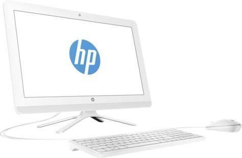 Моноблок HP 22-b349ur, Intel Core i3 7100U, 4Гб, 1000Гб, NVIDIA GeForce GT920MX - 2048 Мб, DVD-RW, Windows 10 Home, белый [2bw22ea] ноутбук hasee 14 intel i3 3110m dvd rw nvidia geforce gt 635m intel gma hd 4000 2 g k460n