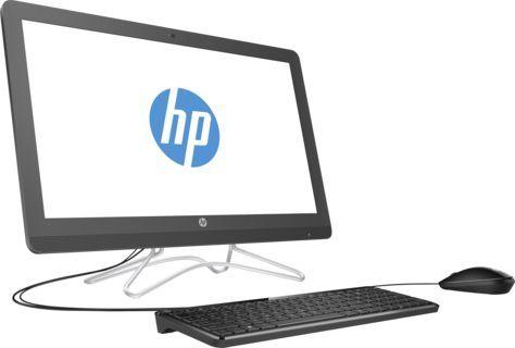 Моноблок HP 24-e048ur, Intel Core i3 7100U, 4Гб, 1000Гб, NVIDIA GeForce 940MX - 2048 Мб, DVD-RW, Windows 10, серый [2bw42ea]