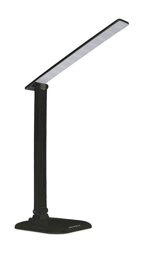 Светильник настольный SUPRA SL-TL205 на подставке,  9Вт,  черный [11369]