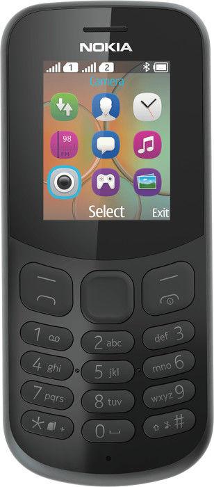 Мобильный телефон NOKIA 130 2017 Dual Sim, черный