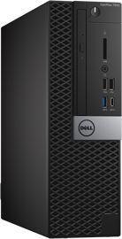 Компьютер  DELL Optiplex 7050,  Intel  Core i7  6700,  DDR4 8Гб, 1000Гб +  1000Гб,  AMD Radeon R5 430 - 2048 Мб,  DVD-RW,  Windows 7 Professional,  черный и серебристый [7050-4360]