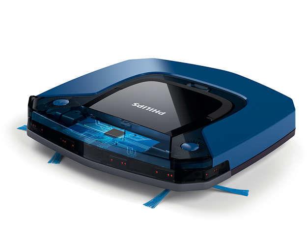 Робот-пылесос PHILIPS FC8792/01, синий