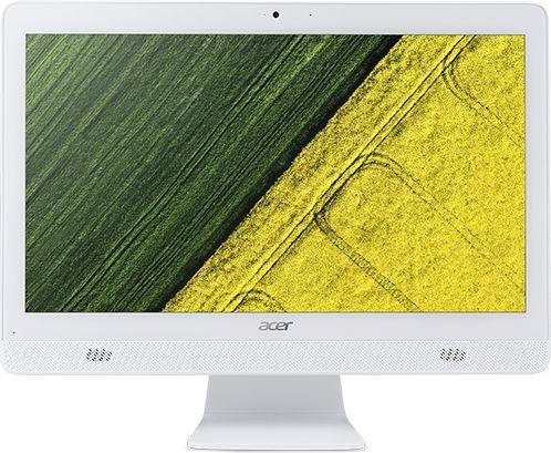 Моноблок ACER Aspire C20-720, Intel Celeron J3060, 4Гб, 1000Гб, Intel HD Graphics 400, DVD-RW, Free DOS, белый [dq.b6xer.007]