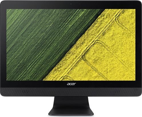 "Моноблок ACER Aspire C20-220, 19.5"", AMD A6 7310B, 4Гб, 500Гб, AMD Radeon R4, DVD-RW, Windows 10, черный [dq.b7ser.003]"