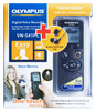 Диктофон OLYMPUS VN-541PC + E39 Earphones 4 Gb,  черный вид 1