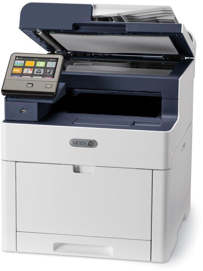МФУ лазерный XEROX WorkCentre 6515DN,  A4,  цветной,  светодиодный,  белый [6515v_dn]