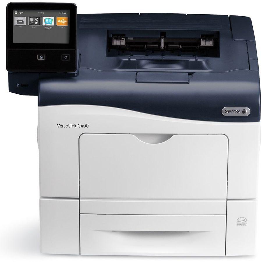 Принтер лазерный XEROX Versalink C400DN лазерный, цвет:  белый [c400v_dn]