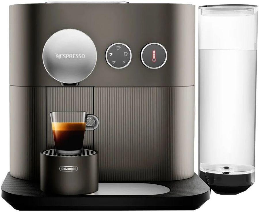 Капсульная кофеварка DELONGHI Nespresso Expert EN350.G, 1400Вт, цвет: темно-серый [132191449]