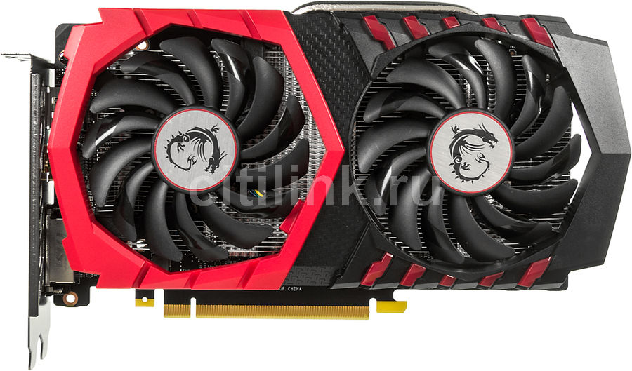 Видеокарта MSI GeForce GTX 1050, GTX 1050 GAMING 2G, 2Гб, GDDR5, OC, Ret видеокарта msi gtx 960 gaming 100me gtx 960 2гб gddr5 retail