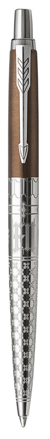 Ручка шариковая Parker Jotter K175 SE London Architecture (2025826) Gothic Bronze M синие чернила по