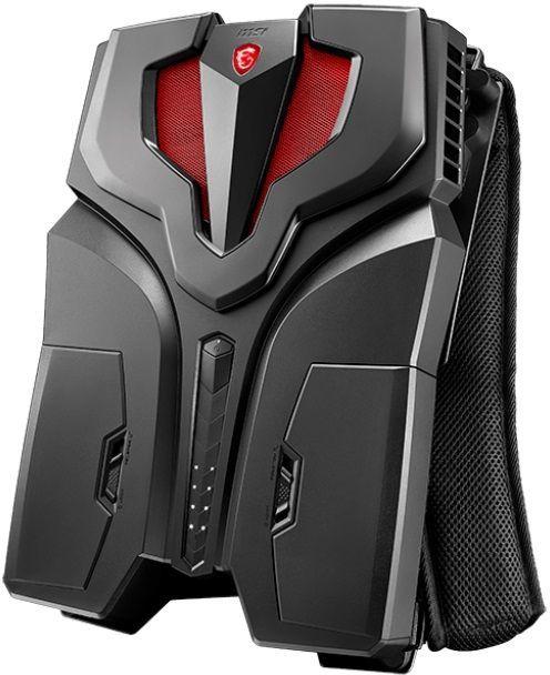 14cee96c0d09 Системный блок (рюкзак) MSI VR ONE 7RD-099RU, черный