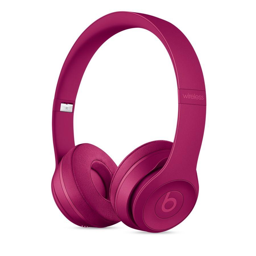 Наушники с микрофоном BEATS Solo3, 3.5 мм/Bluetooth, накладные, розовый матовый [mpxk2ze/a]