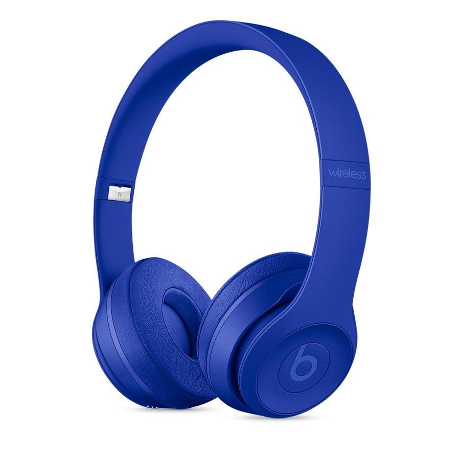 Гарнитура BEATS Solo3, накладные,  темно-голубой, беспроводные bluetooth