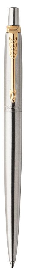 Ручка гелевая Parker Jotter Core K694 (2020647) Stainless Steel GT 0.7мм черные чернила подар.кор.