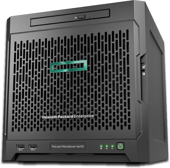 "Сервер HPE ProLiant MicroServer Gen10 1xX3216 1x8Gb x4 3.5"" SATA 1G 2P 1x200W 2xDisplayPort (873830-"