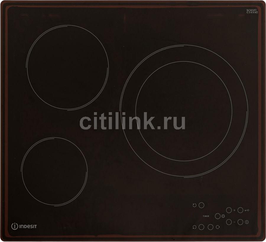 Варочная панель INDESIT RI 360 C,  электрическая,  независимая,  черный