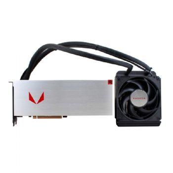 Видеокарта SAPPHIRE AMD  Radeon RX Vega 64 ,  21275-00-40G VEGA 64 8G LIQUID COOLING,  8Гб, HBM2, Ret