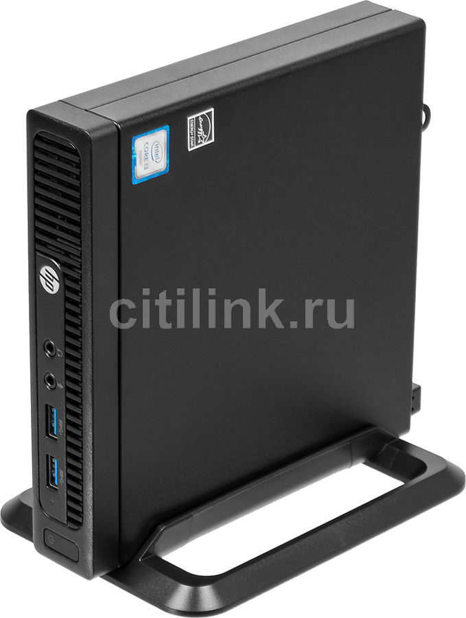 Компьютер HP 260 G2, Intel Core i3 6100U, DDR4 4Гб, 1000Гб, Intel HD Graphics 520, Windows 10 Professional, черный [2tp59es] new intel core i3 7100u i5 7200u fanless intel skylake mini pc intel hd graphics 620 4k hdmi vga usb3 0 sd card desktop computer