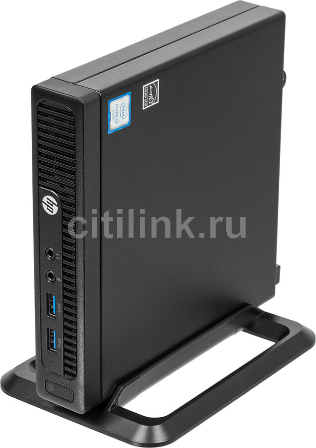 Компьютер HP 260 G2, Intel Core i3 6100U, DDR4 4Гб, 1000Гб, Intel HD Graphics 520, Windows 10 Professional, черный [2tp58es] new intel core i3 7100u i5 7200u fanless intel skylake mini pc intel hd graphics 620 4k hdmi vga usb3 0 sd card desktop computer