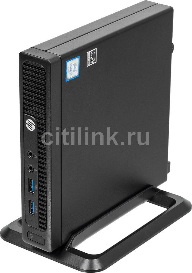 Компьютер  HP 260 G2,  Intel  Core i3  6100U,  DDR4 4Гб, 1000Гб,  Intel HD Graphics 520,  Windows 10 Professional,  черный [2tp58es]